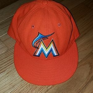 Florida Miami Marlins fitted cap